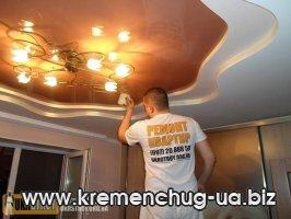Укрстрой - ремонт квартир в Кременчуге. Натяжные потолки. Окна.